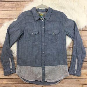 C&C California Chambray Button Pocket Shirt